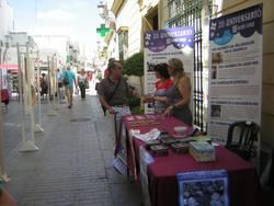 """Campaña """"Chiclana en la calle. Solidaridad por Principio""""."""