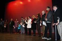 Final I Certamen de Cortometrajes por los Derechos Humanos 2012.