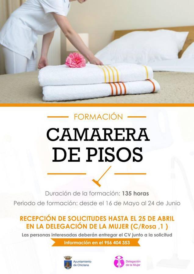Ayuntamiento chiclana de la frontera servicios y sede virtual jornadas cursos talleres - Camarera de pisos curso gratuito ...