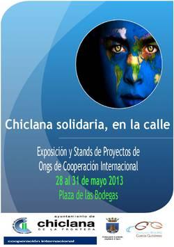 Chiclana Solidaria, en la Calle