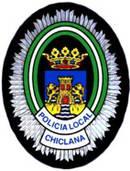 Escudo de la Policía Local de Chiclana.