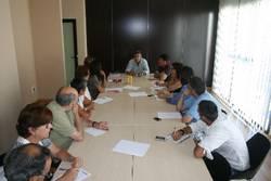 El Delegado de Cooperación Internacional mantiene un encuentro con Ong's.