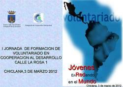 """I Jornada de formación de voluntariado en Cooperación al Desarrollo """"Jóvenes Enredando en el Mundo""""."""
