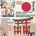 cartel seminario karate