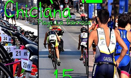 cartel triatlón menores
