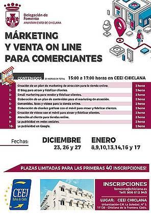 Cartel Venta Online segunda edición