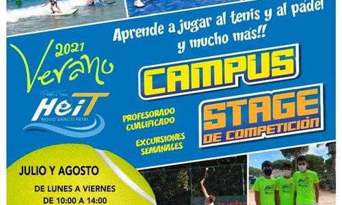 cartel campus de verano