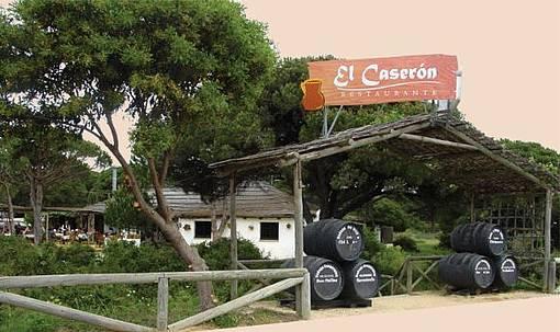 Imagen de archivo del restaurante del pinar de La Barrosa