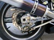 Fotografía de una motocicleta