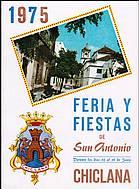 Programa de feria año 1975
