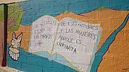 Detalle Mural 3 del IES Poeta García Gutiérrez
