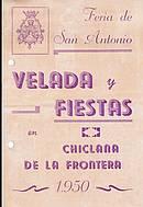 Programa de feria año 1950