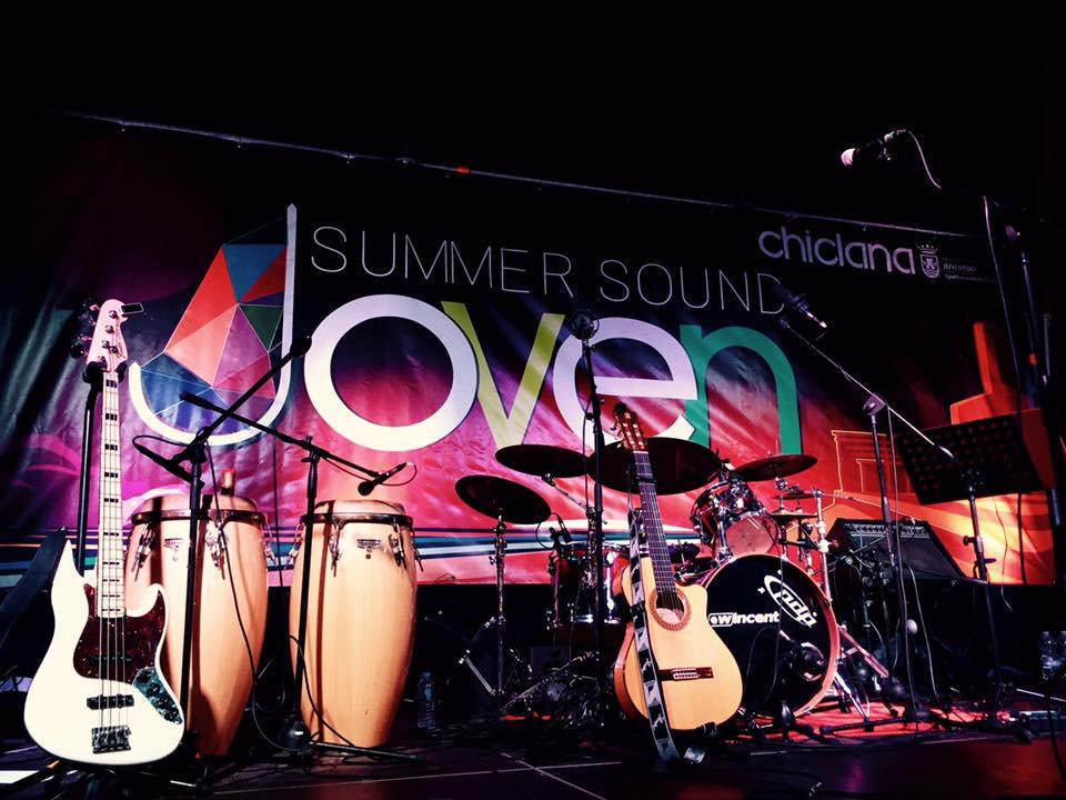 Momento de la primera sesión del Summer Sound.