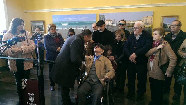 Inauguración de la exposición de Agustín Colchón.