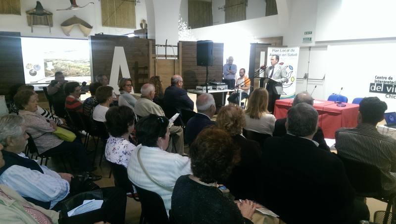Intervención del alcalde durante la inauguración de la II Semana de la Salud