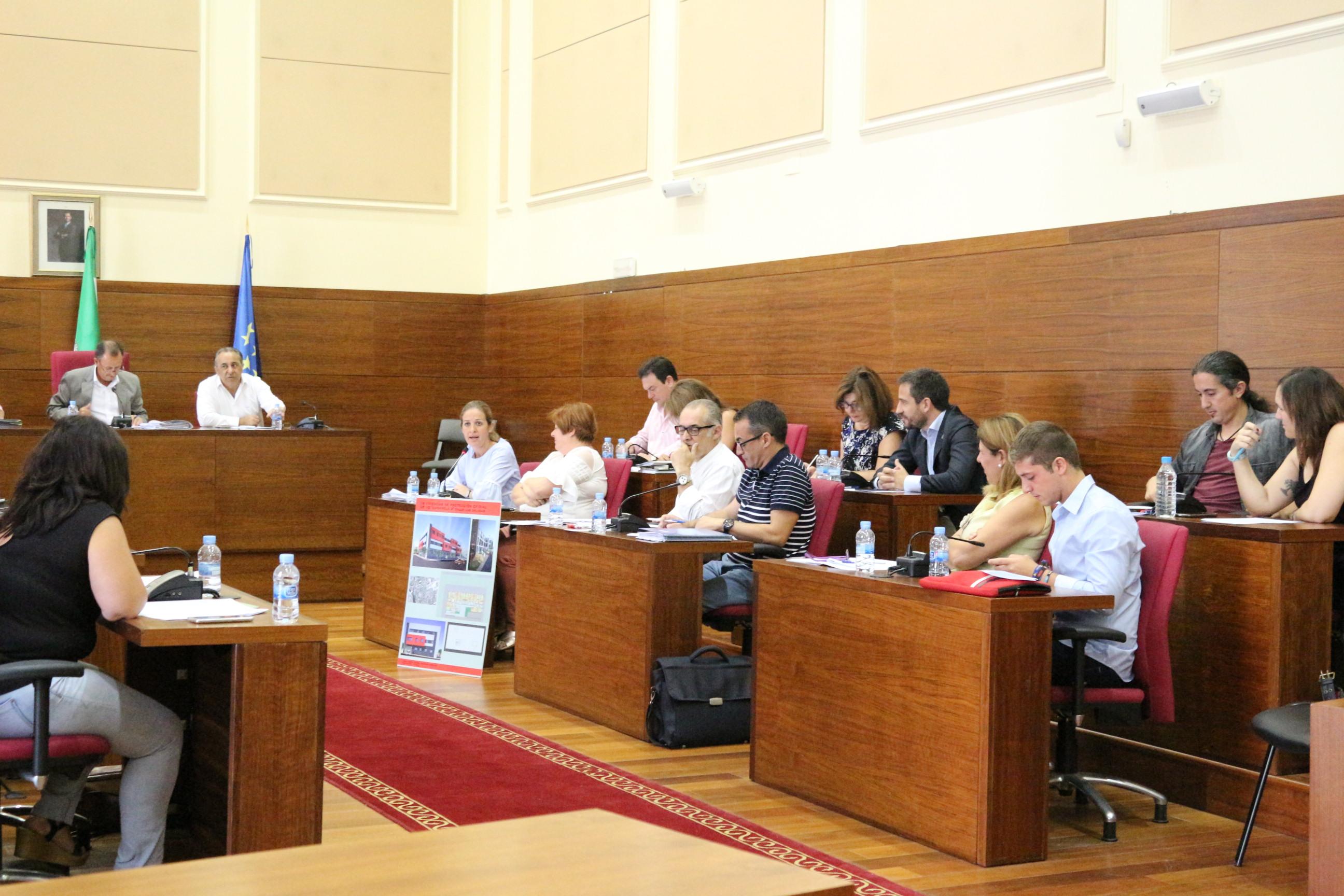 Momento del Pleno.