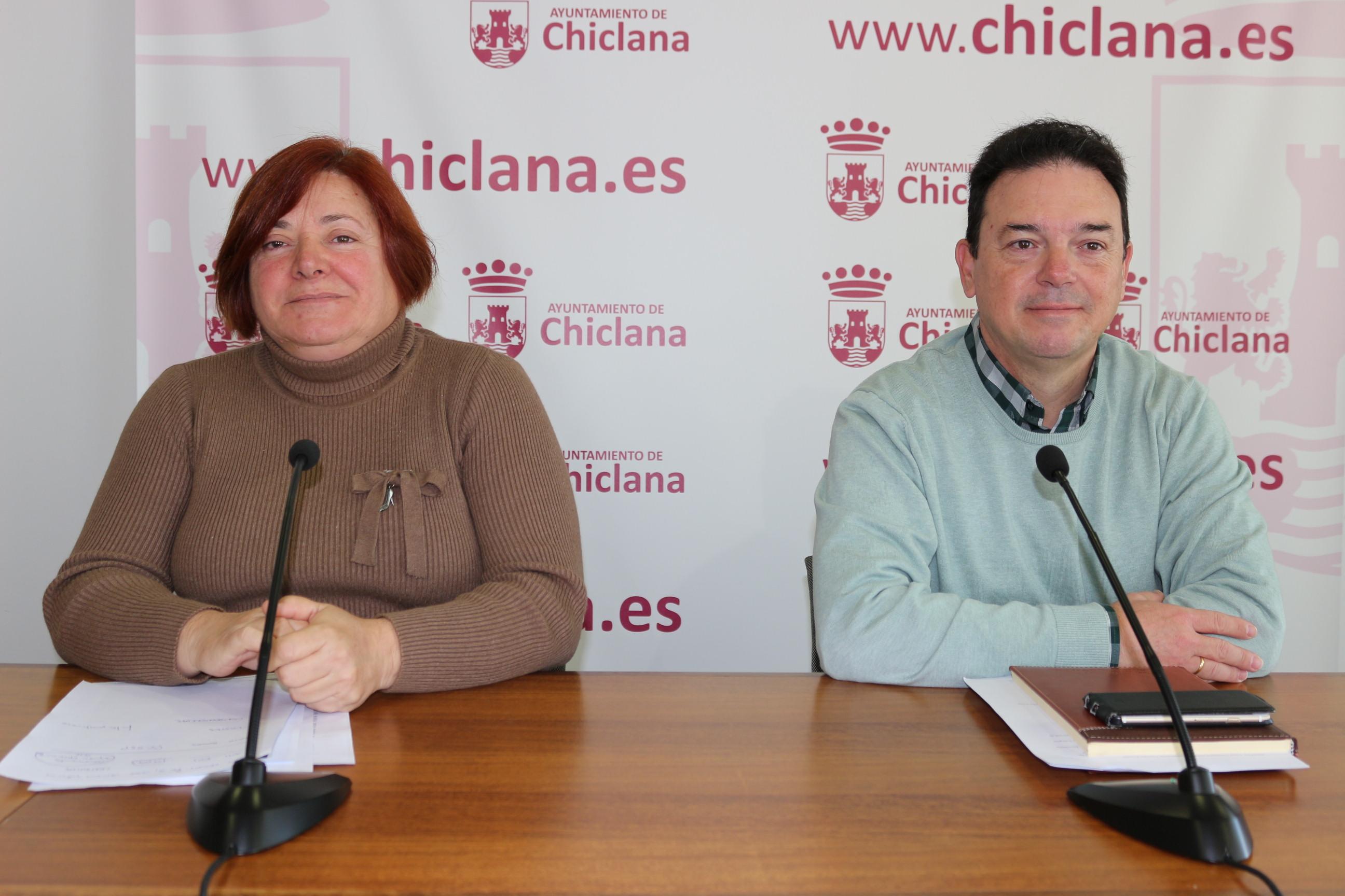 Cándida Verdier y Joaquín Guerrero en rueda de prensa