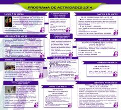 Programación 8 de marzo de 2014