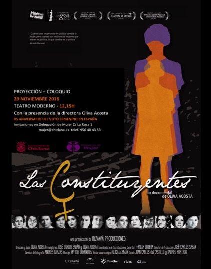Cartel de Las Constituyentes.