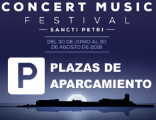Parking en Concert Musical Festival Sancti Petri