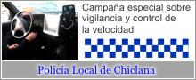 Campaña especial sobre vigilancia y control de la velocidad