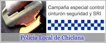 campaña especial de vigilancia del cinturón de seguridad y SRI